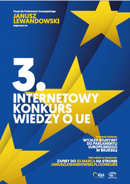 3. Europejski Konkurs Wiedzy o Unii Europejskiej