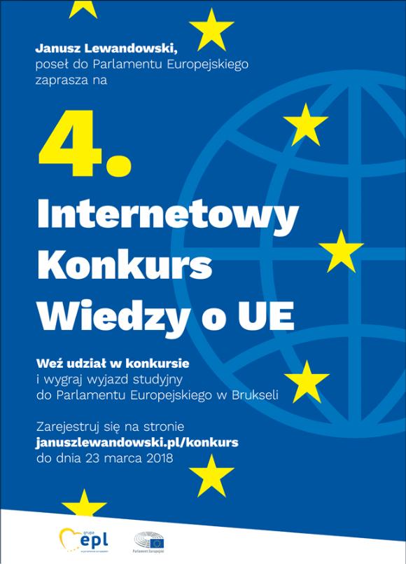 4. Internetowy Konkurs Wiedzy O Ue